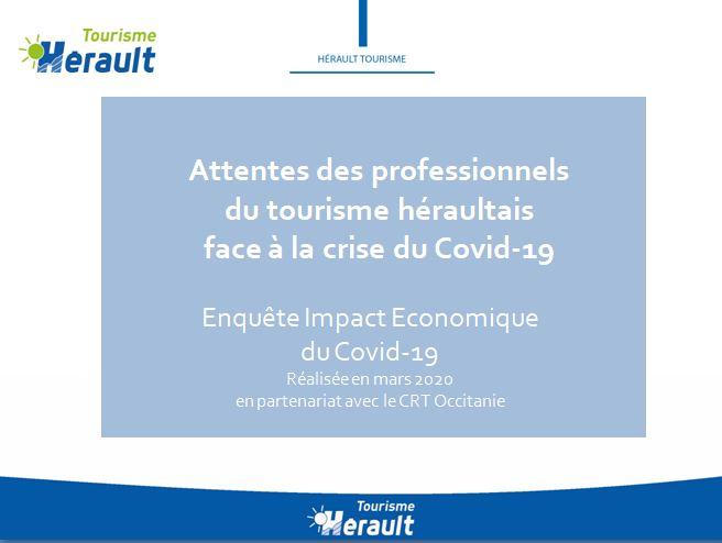 Analyse attentes des professionnels Hérault - Enquête Covid-19