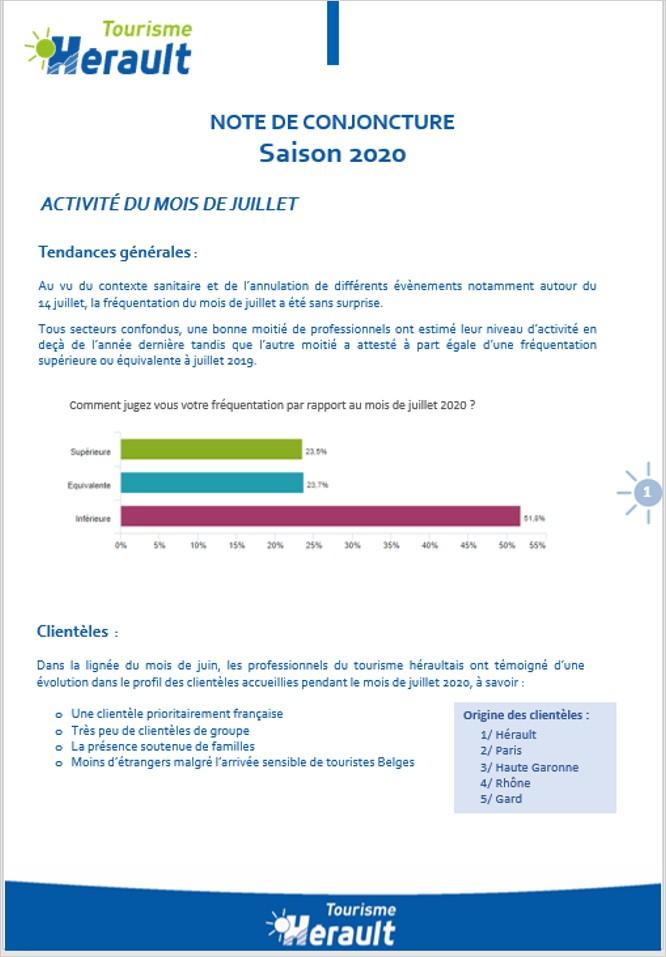 NOTE CONJONCTURE JUILLET 2020 HERAULT